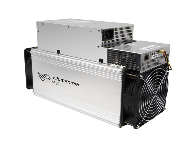 Whatsminer M21S with PSU